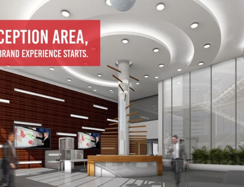 THE RECEPTION AREA: WHERE YOUR BRAND EXPERIENCE STARTS